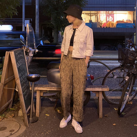 [USED] made in U.S.A. ストライプ EASY PANTS!