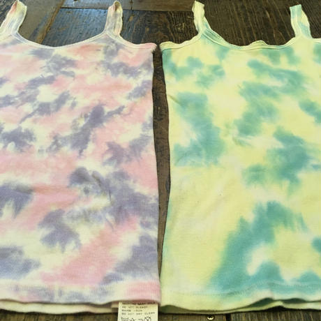 [USED] TIE-DYE COTTON キャミ♡