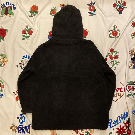 [Naughty]  HEAVY FLEECE H-ZIP HOODIE