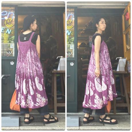 [USED] ペイズリーキャミドレス♡