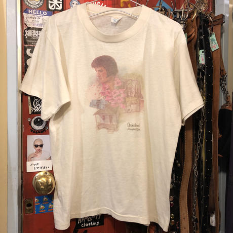 [USED] WHITE♡ VINTAGE ELVIS Tee