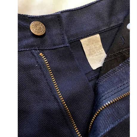 [USED] OLD 極太 WORK PANTS W27