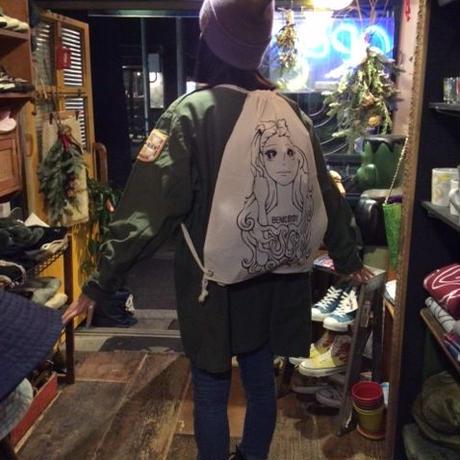 [BENICOTOY] HAYAKAWA SANG ナップサック