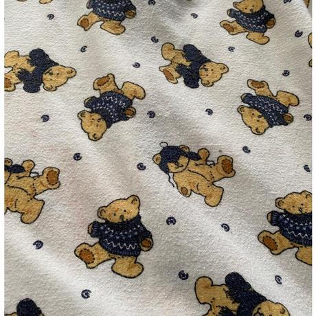 [USED] くま♡パジャマシャツ