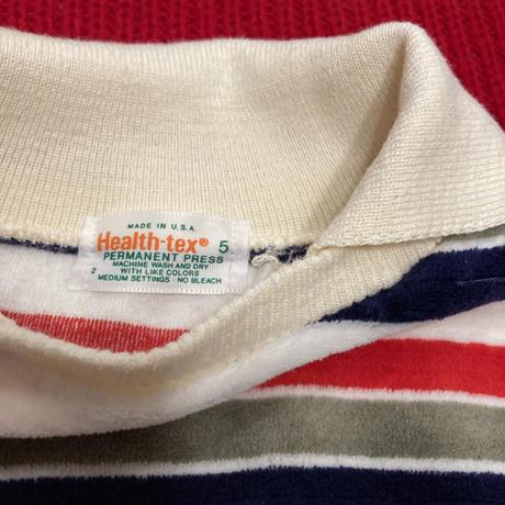 [USED] KIDS vintage ♡ ベロア ロンTee & DENIM CAP
