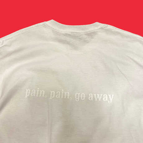 [VIEW / MADシリーズ] 『pain.pain.go away』 T-shirts