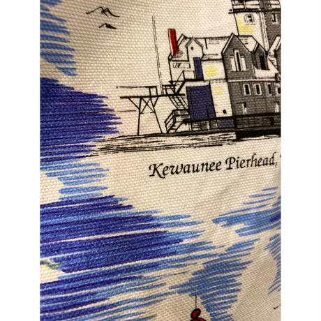[USED]  vintage CUTE 灯台エプロン