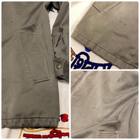 [USED] FRENCH ARMY F2 COAT!