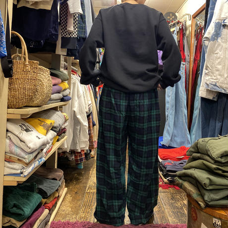 "[USED] ""TOMMY HILFIGER"" パジャマPANTS💚"