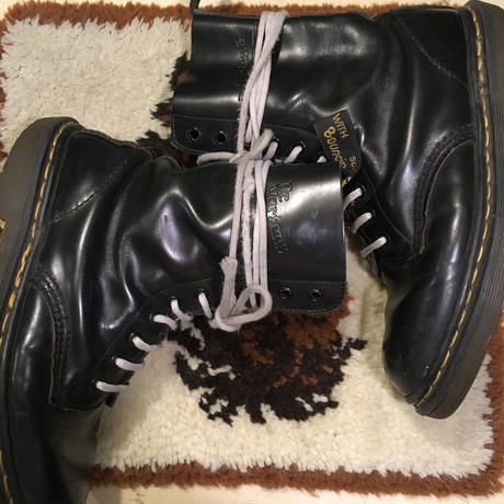 [USED] Dr.martens made in ENGLAND. 10HOLE BLACK