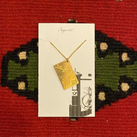 [Aquvii] Postcard Necklace