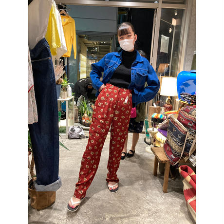 [USED] 70's COTTON BLUE Gジャン