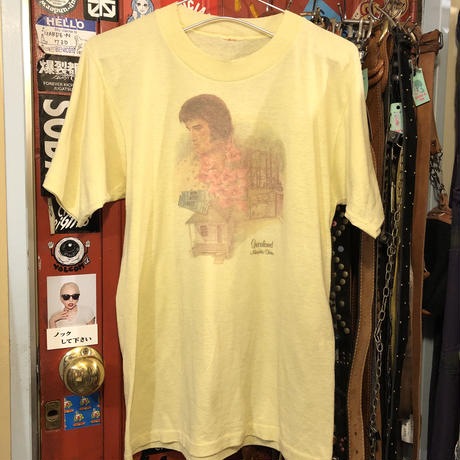 [USED] YELLOW♡ VINTAGE  ELVIS Tee