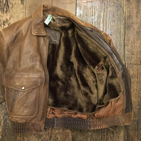 [USED] real leather!G-1 TYPE JKT