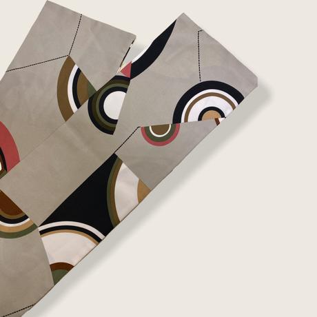 [USED] サークル柄 ロングスカーフ