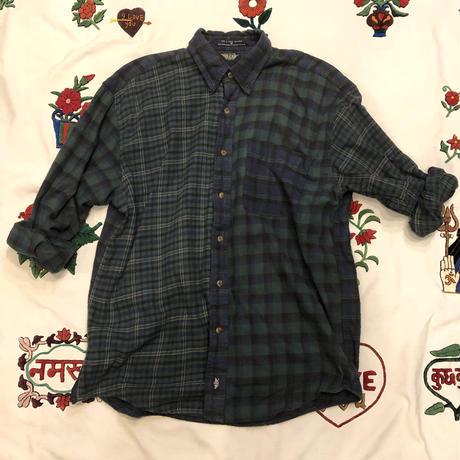 [USED] DOCKERS CRAZY PATTERN ネルシャツ