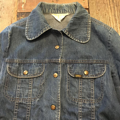 [USED] 70's Lee  デニムブッシュジャケット