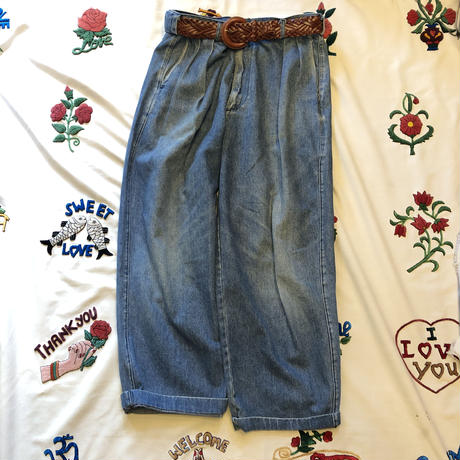 "[USED] ""POLO COUNTRY""  2タック DENIM PANTS"