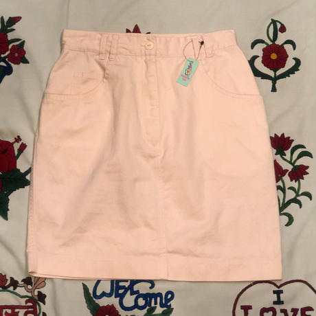 [USED] PINK COTTON skirt