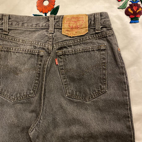[USED]  OLD Levi's 17501 High-Waist(BLK)
