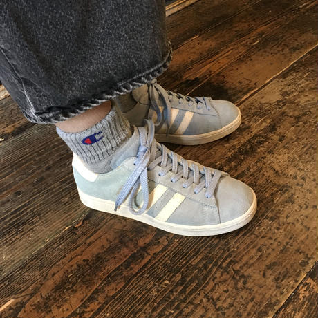 [USED] '02 adidas CUMPUS 水色 SUEDE