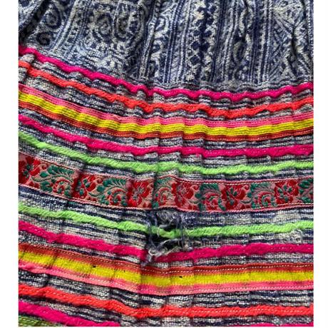 [USED]  民族風カラフルスカート  💛💚