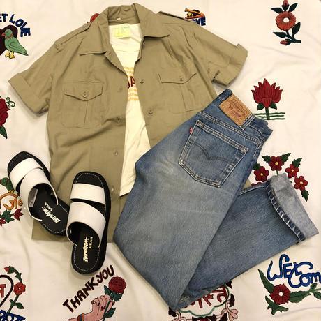 [SELECT] フランス軍 DEADSTOCK CHINOシャツ