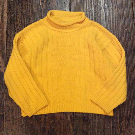 [USED] 可愛い黄色のチビセーター!