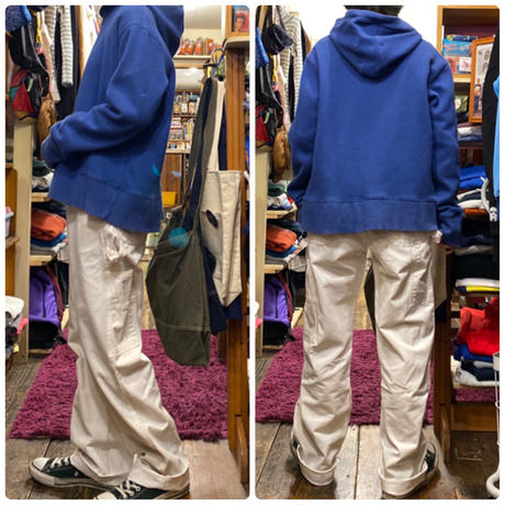 [USED] Dickies WHITE PAINTER PANTS!