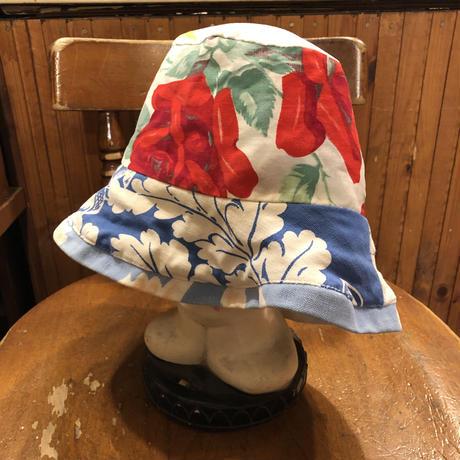 [USED] FLOWER REVERSIBLE HAT♡