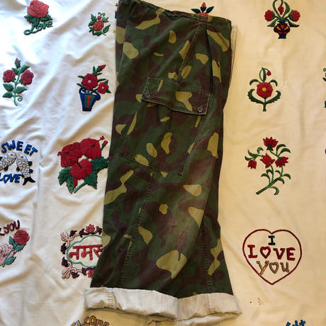 [USED] リメイクFinland ARMY CAMOパンツ