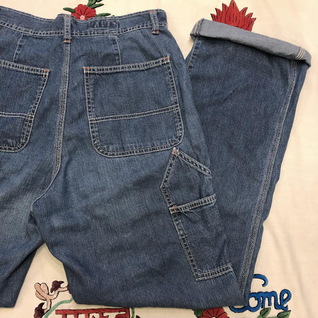 [USED] 90's OLD 45RPM  PAINTER PANTS