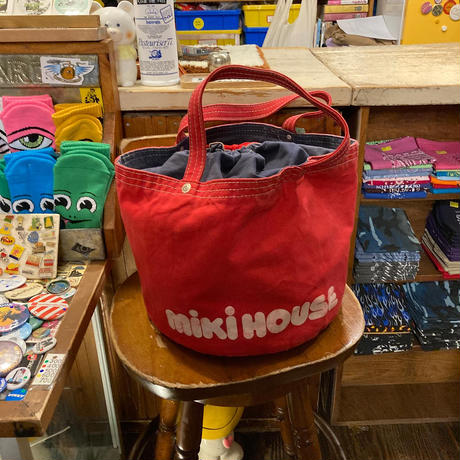 [USED] OLD miki house TOTE BAG
