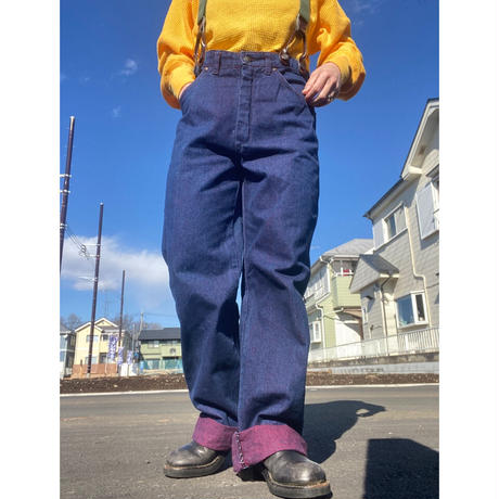 [USED] OLD  made in FRANCE デニムパンツ