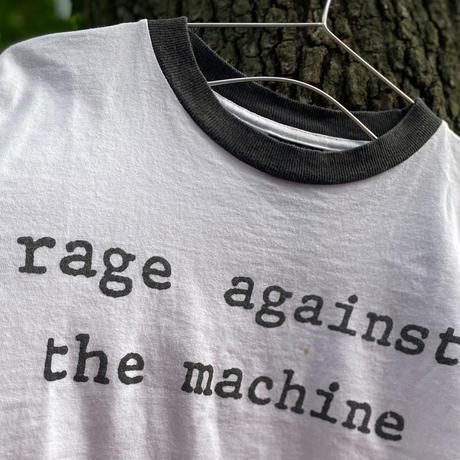 "[USED]""rage against the machine"" Tee"