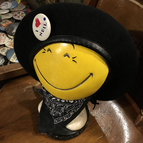 [USED] ミリタリーベレー帽 Black