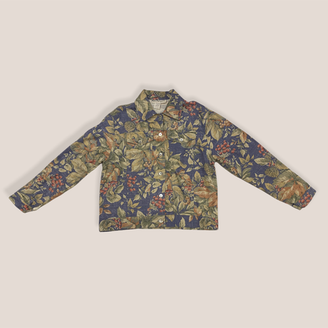 [USED] made in U.S.A.🌼花柄Gジャン