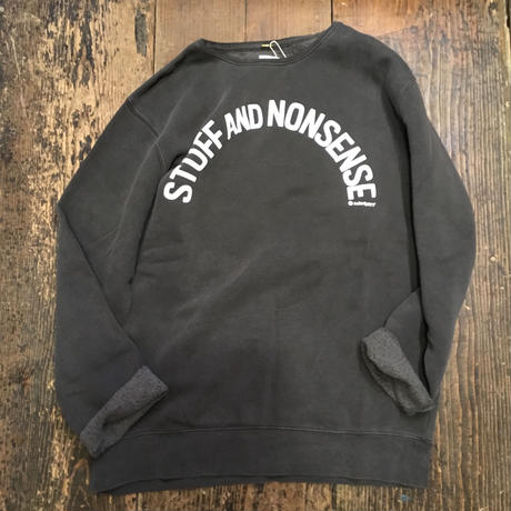 [Naughty] STUFF AND NONSENSE GRUNGE SWEAT
