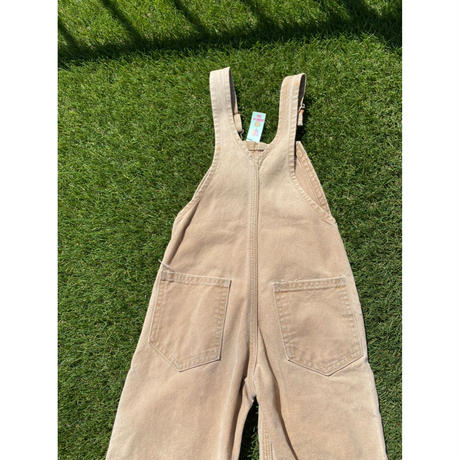 [USED] -KIDS- carhartt over all  BEIGE