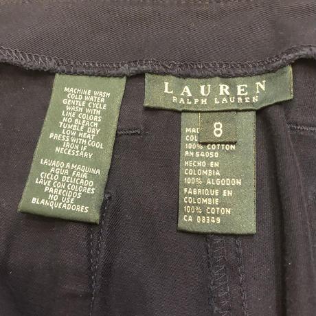 [USED] RALPH LAUREN クロップドパンツ