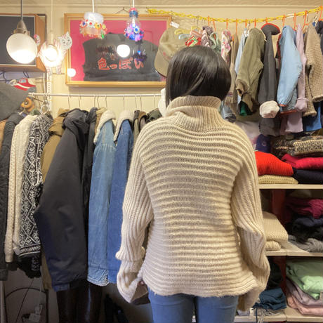 [USED] おもしろハイネックセーター