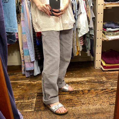 [USED] 千鳥柄 EURO COOK PANTS🍳