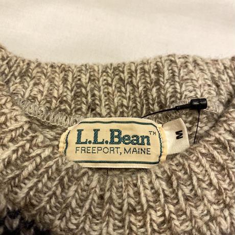 [USED] L.L.Bean ノルディック柄KNIT⛄️