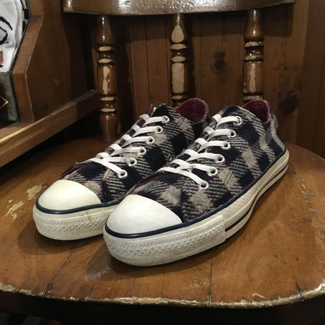 [USED] 90's WOOL CHECK ALLSTAR