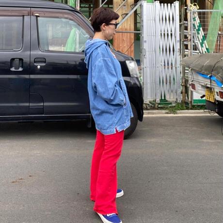 [USED] デニムプルオーバーパーカー 💙
