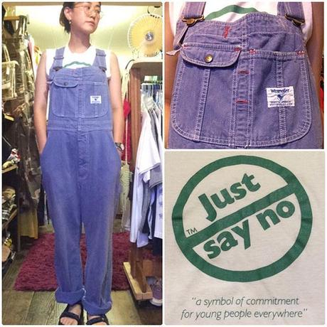 [USED] Wrangler  purple overall