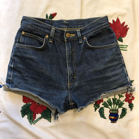 [USED] Lee  CUTOFF Denim Shorts