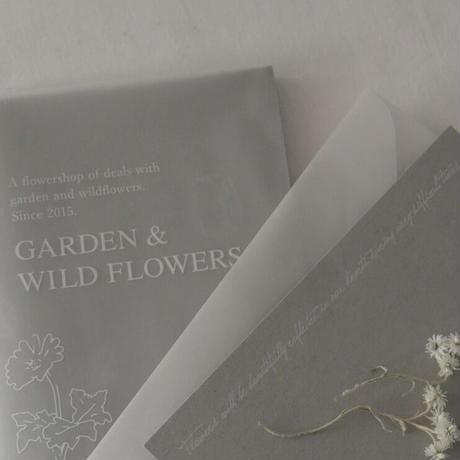 GARDEN&WILDFLOWERS BOOK(付録付き)