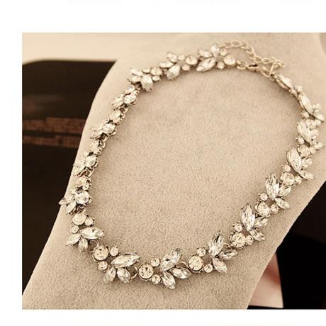 復古調 Gorgeous Flower Design ネックレス