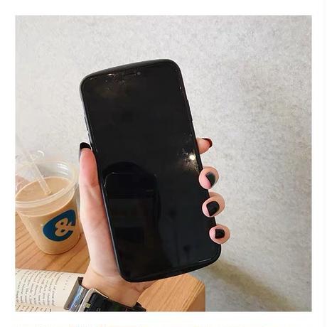 レインボーグリッタースマホケース/iphone11-11ProMax